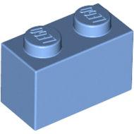 LEGO Medium Blue Brick 1 x 2 3004 - 4179833
