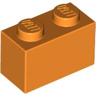 LEGO Orange Brick 1 x 2 3004 - 4121739