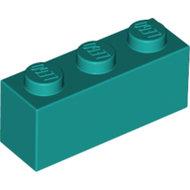 LEGO Dark Turquoise Brick 1 x 3 3622 - 6213783