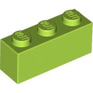 LEGO Lime Brick 1 x 3 3622 - 4166093