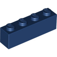 LEGO Dark Blue Brick 1 x 4 3010 - 4264569