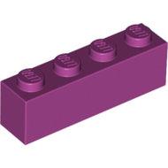 LEGO Magenta Brick 1 x 4 3010 - 6056373