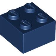 LEGO Dark Blue Brick 2 x 2 3003 - 4296785