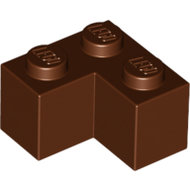 LEGO Reddish Brown Brick 2 x 2 Corner 2357 - 4211200