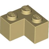 LEGO Tan Brick 2 x 2 Corner 2357 - 4124455