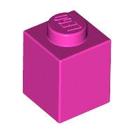 LEGO Dark Pink Brick 1 x 1 3005 - 4492224